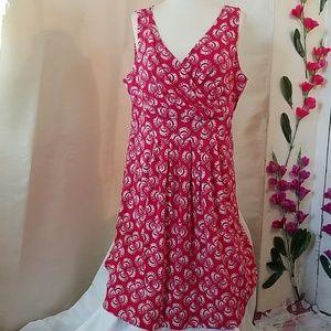Lands'End sleeveless dress